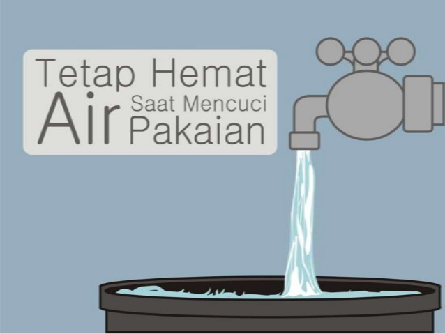 Contoh Poster Hemat Air