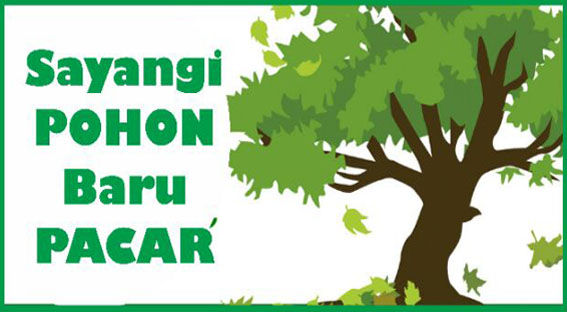 contoh poster go green